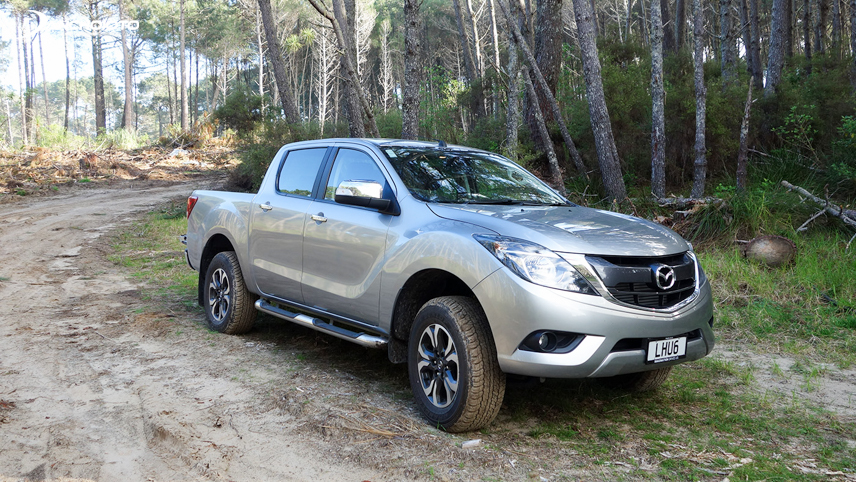 2018 Mazda BT-50 has 2 engine options