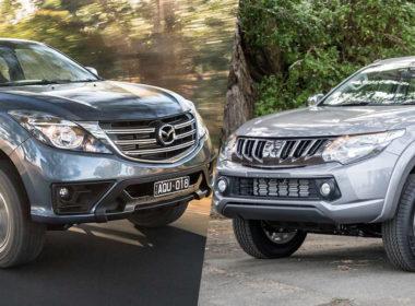Mazda BT-50 2018 và Mitsubishi Triton 2018: Xe Nhật nào đáng mua hơn?
