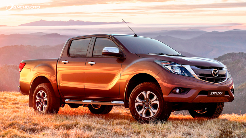 The 2018 Mazda BT-50 has a fairly simple grille