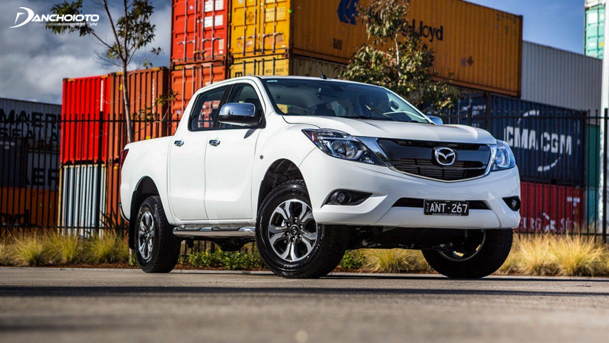 2018 Mazda BT-50 has a high aerodynamic design