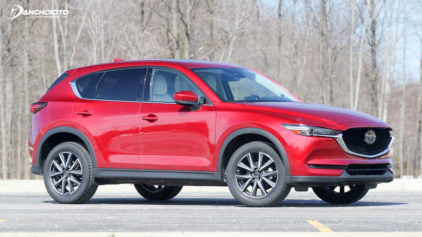 The 2018 Mazda CX-5 has a ground clearance of up to 200mm