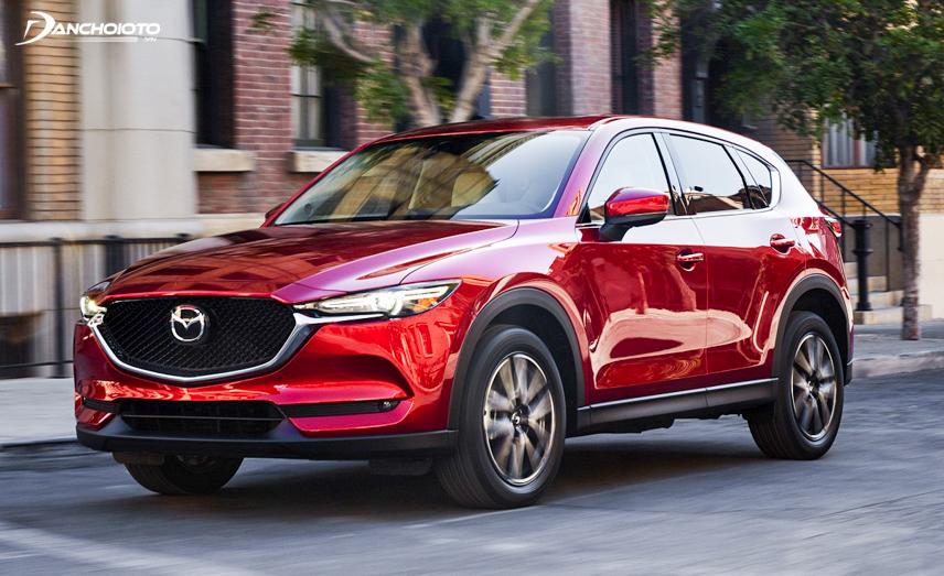 The 2018 Mazda CX-5 has a beautiful and impressive head design