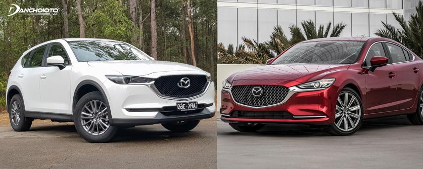 Mazda CX-5 2018 và Mazda 6 2018