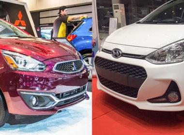 Mitsubishi Mirage 2018 và Hyundai Grand i10 2018: Có gì cạnh tranh ngoài thương hiệu?