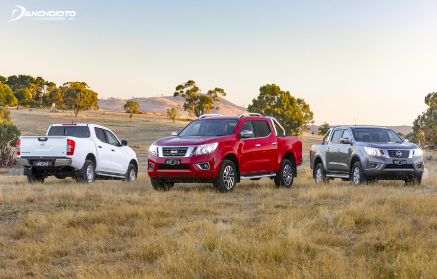 Nissan Navara 2018 uses many safety equipment