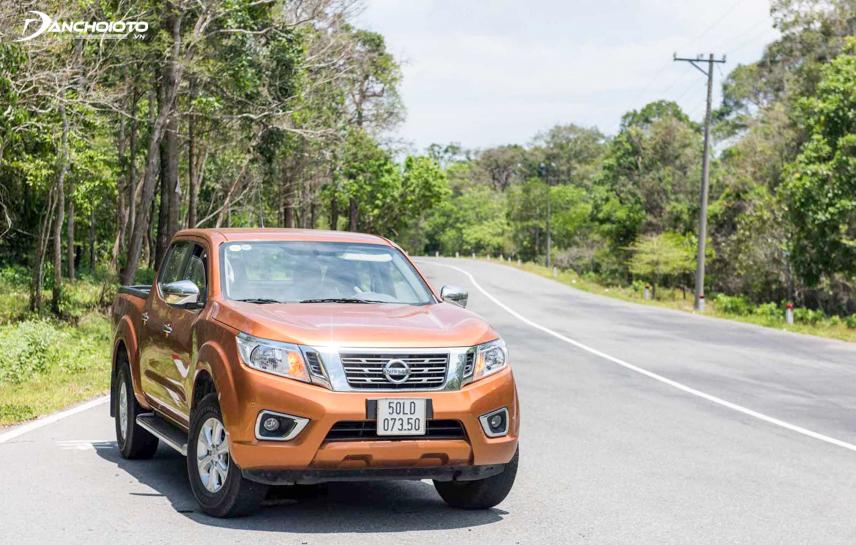 Nissan Navara EL 2018 được trang bị khối động cơ dung tích 2.5L