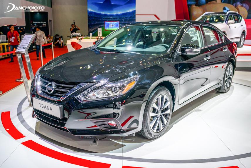 Nissan Teana 2018 có 5 tùy chọn phiên bản cho khách hàng