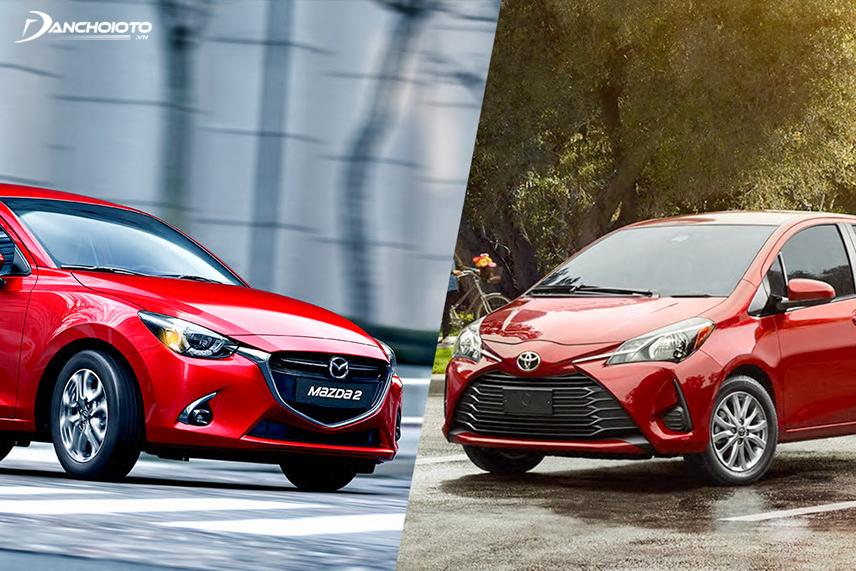 Toyota Yaris 2018 và Mazda 2 2018