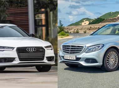 Audi A4 và Mercedes-Benz C250 Exclusive: Cuộc đấu lớn của xe sang cỡ nhỏ