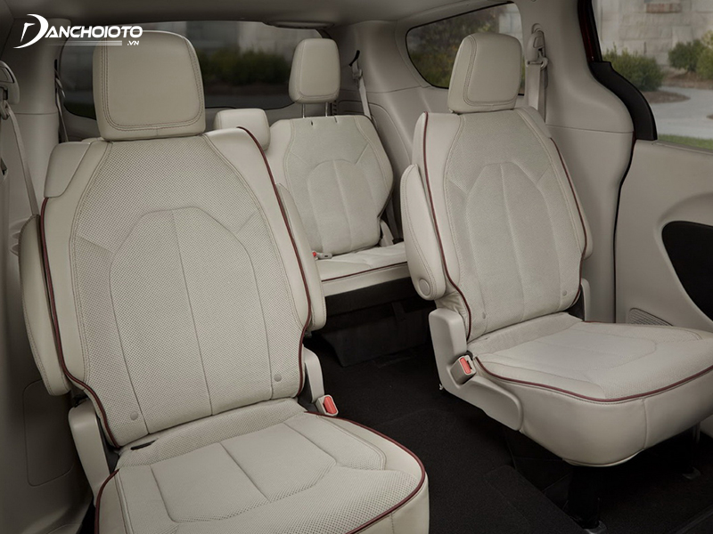 Perforated leather upholstery with car seats has the advantage of more ventilation