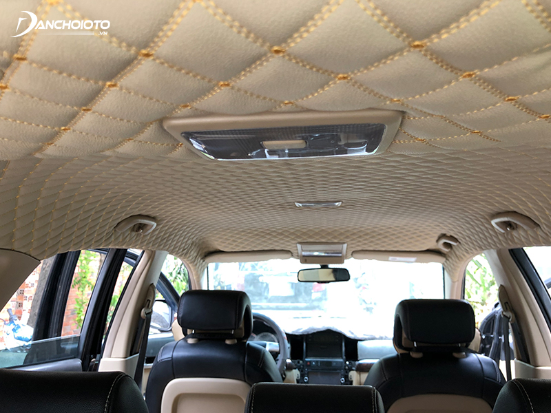 Ceiling covering 5D, 6D has sound and heat insulation
