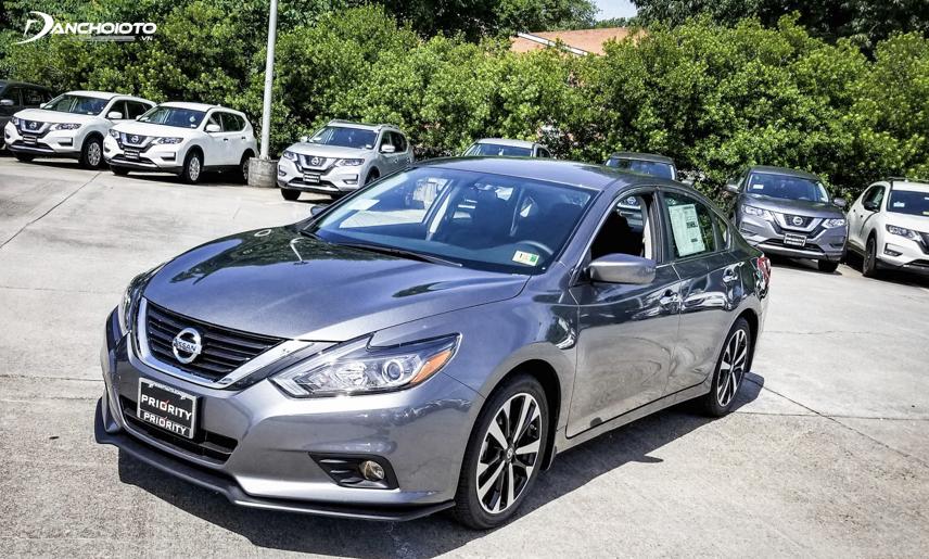 Các phiên bản thấp của Nissan Teana 2018 cũng được trang bị nhiều công nghệ hiện đại