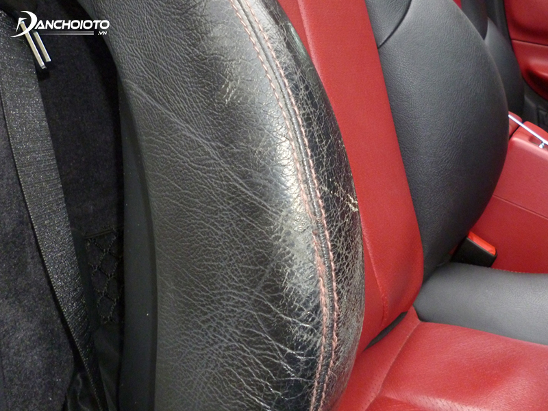 Simili leather seats have low life expectancy, are prone to explosion, cracking, peeling after a period of use