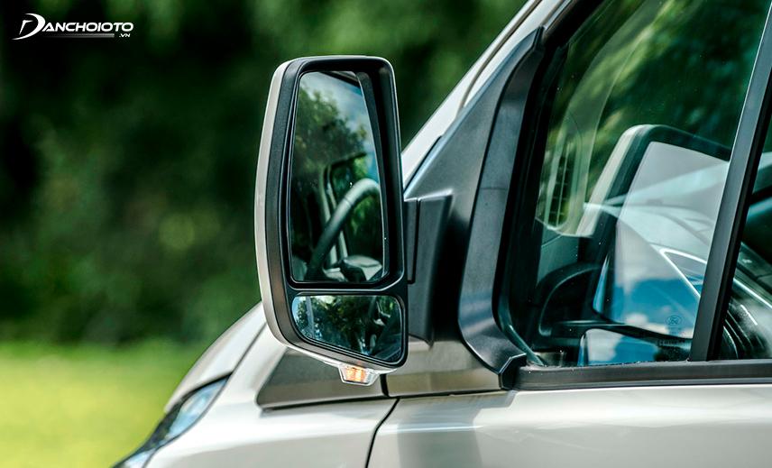 Gương chiếu hậu Ford Tourneo 2020 hình chữ nhật đứng
