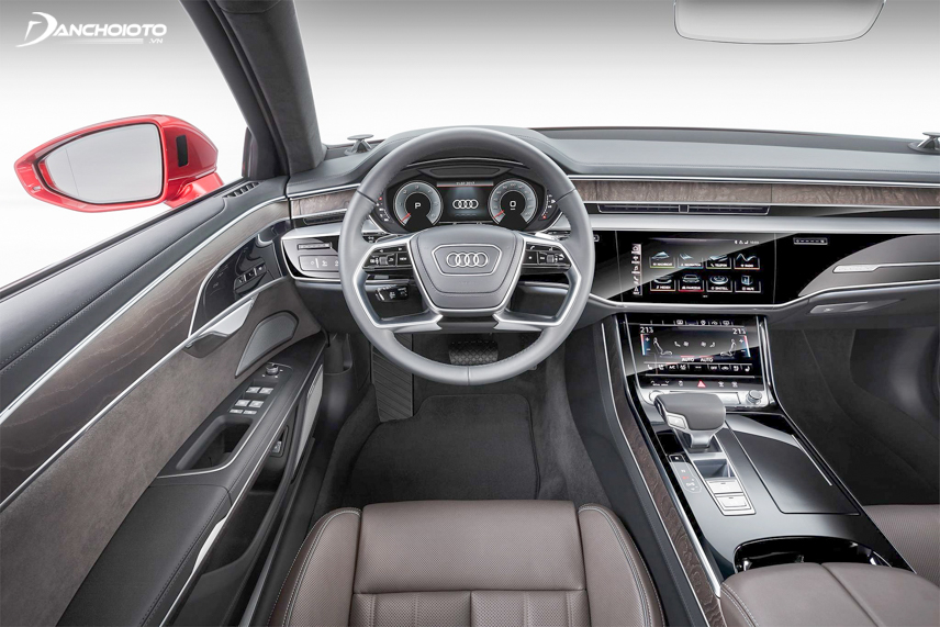 Entertainment system on the Audi Q7 2019