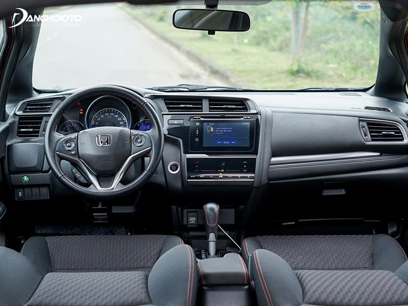 2020 Honda Jazz owns a very spacious space