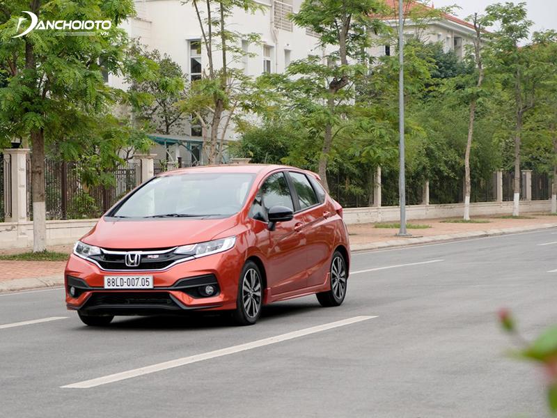 Honda Jazz accelerates well in low speed range