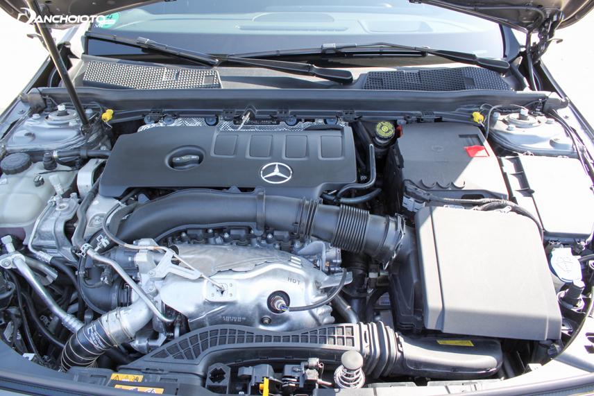 Engine block of Mercedes-Benz A-Class 2019