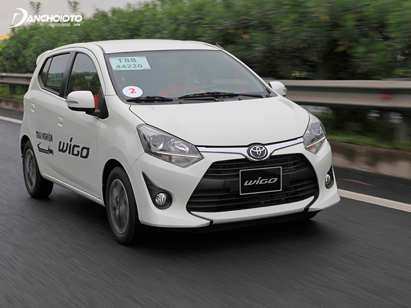 There is nothing to complain about the performance of the Toyota Wigo