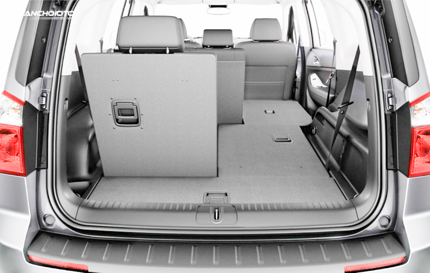 Interior space on the Chevrolet Orlando 2018