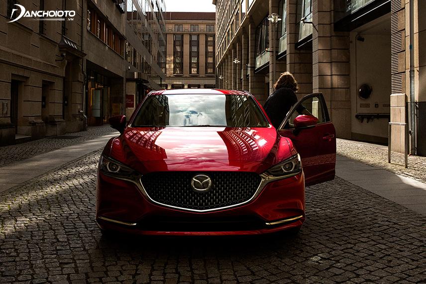The Mazda 6 has a fairly long body