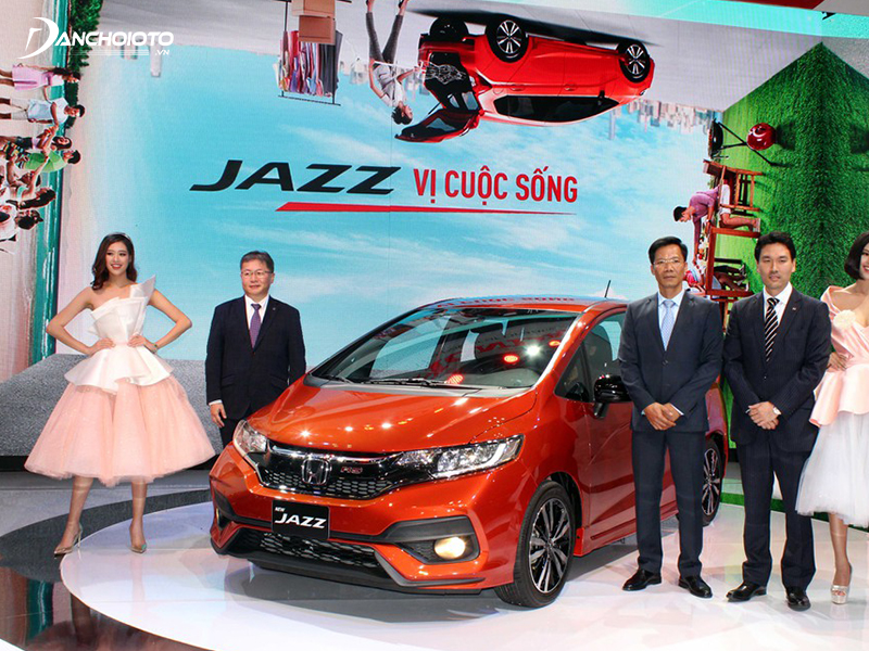 In 2018, Honda Jazz is officially distributed as a CBU import from Thailand