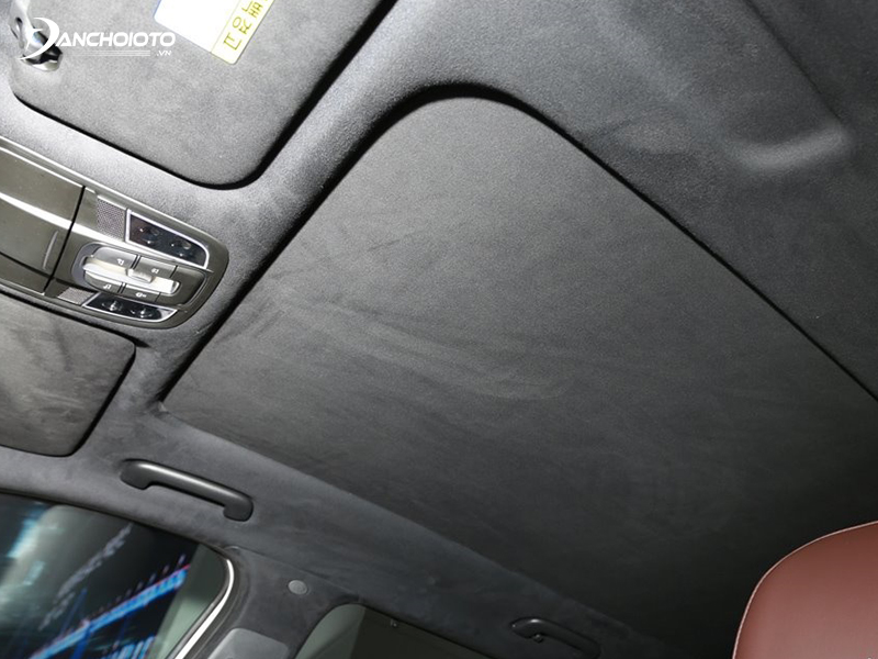 Many people mistake Alcantara for suede