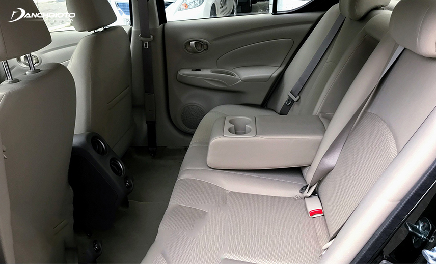 The old Nissan Sunny has the most spacious space in its segment