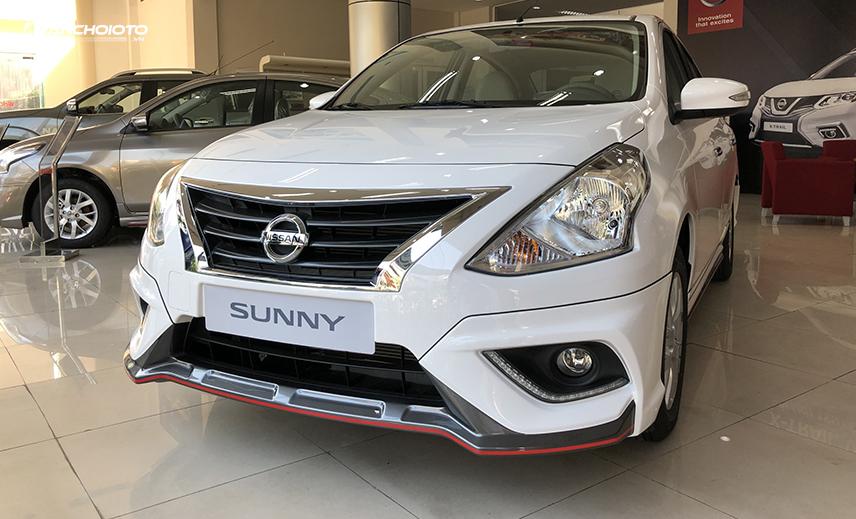 Nissan Sunny là một mẫu xe có tính thực dụng cao