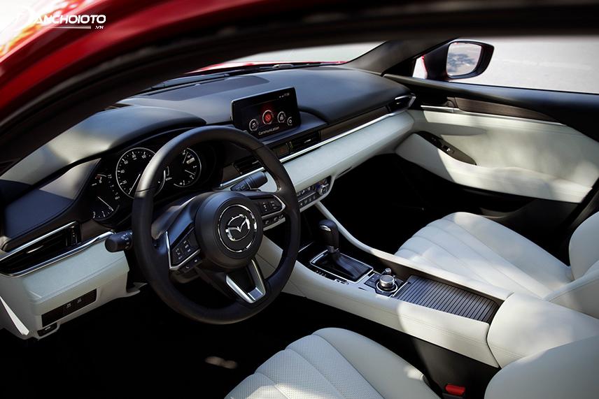 Interior of the Mazda 6