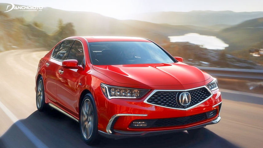 The first part of Acura RLX 2018