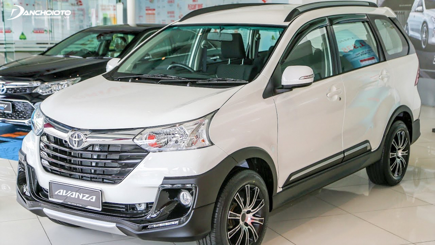 The first part of Toyota Avanza 2018