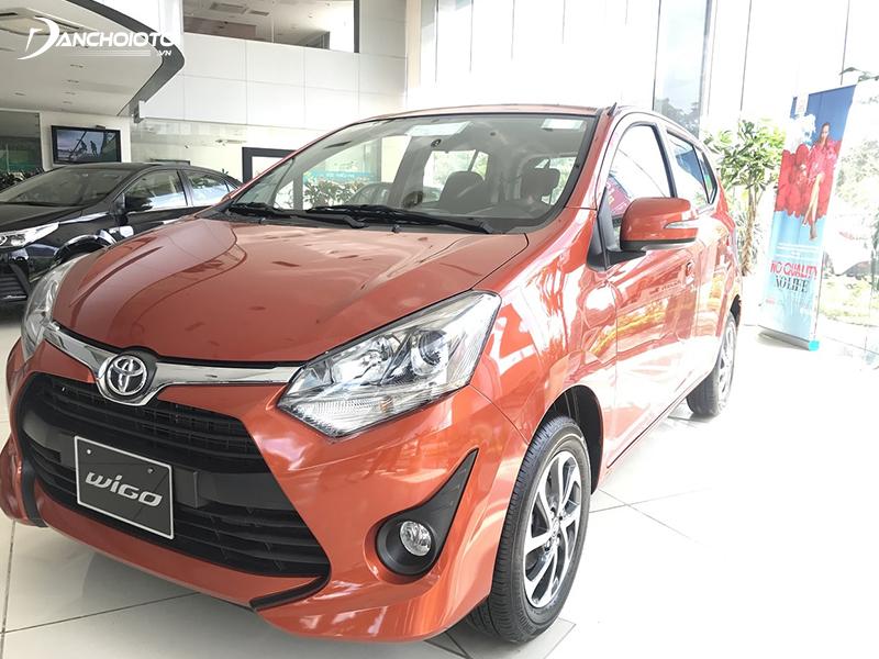 Phiên bản Toyota Wigo G 1.2MT phù hợp nếu mua xe chạy dịch vụ