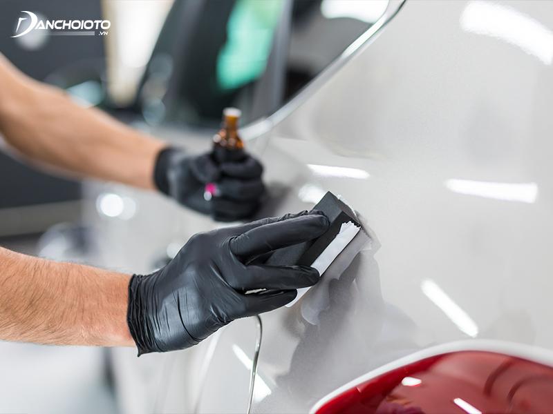 Phủ ceramic gần đây được khá nhiều người dùng ô tô ưa chuộng