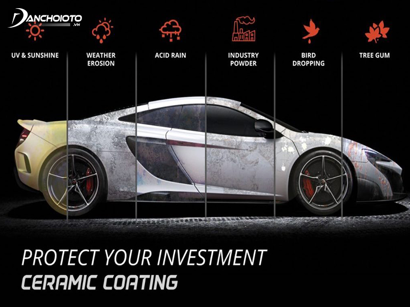 Ceramic coating will help to protect against UV damage / oxidation