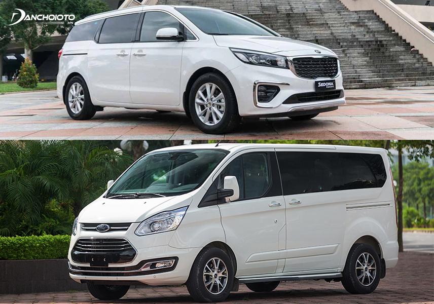 So sánh Kia Sedona và Ford Tourneo, cả 2 mẫu xe khá tương đương về nhiều mặt