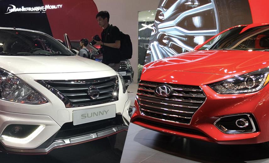 So sánh Nissan Sunny và Accent, ngang tầm giá nhưng Accent vượt trội hơn về nhiều mặt