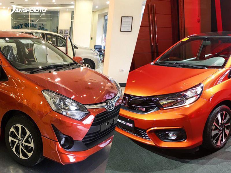 So sánh Wigo và Brio, cả 2 mẫu xe khá tương đương nhưng giá xe Brio cao hơn Wigo