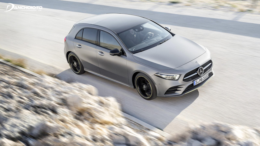 The body of the Mercedes-Benz A-Class 2019