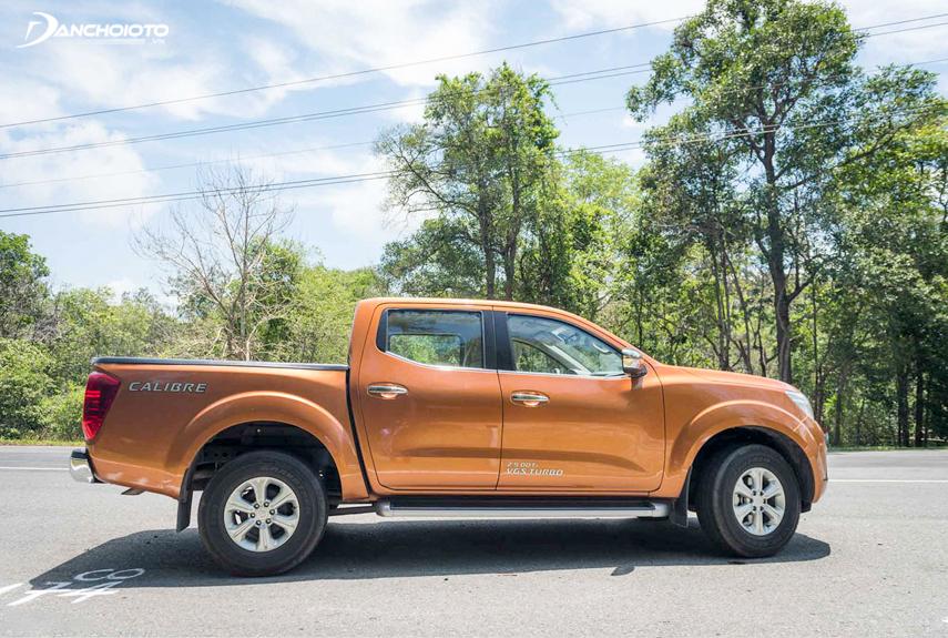 Thân xe của Nissan Navara 2018 phiên bản EL