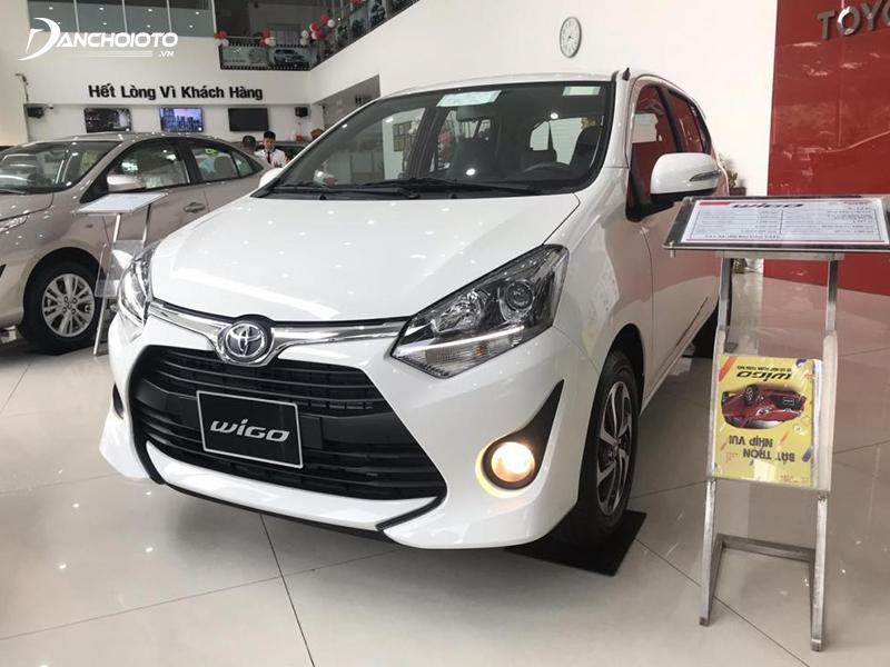 Toyota Wigo 2020 có trang bị an toàn khá sơ sài
