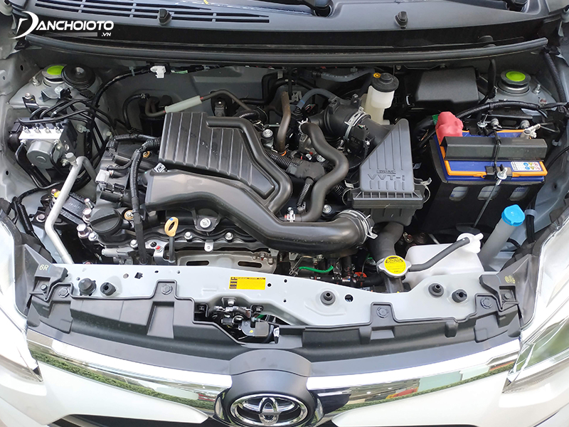 Toyota Wigo 2020 is equipped with a 1.2-liter engine