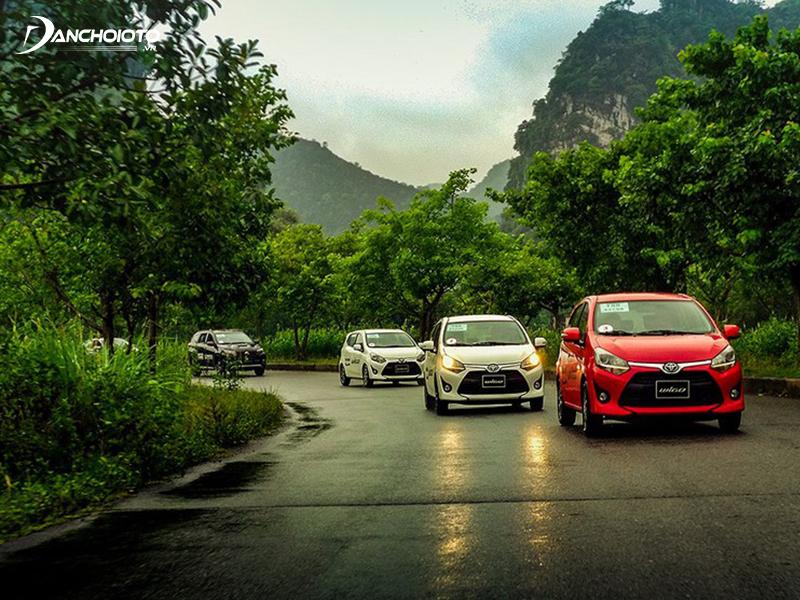 Toyota Wigo có khả năng tăng tốc rất tốt ở dải tốc thấp dưới 40 - 50 km/h