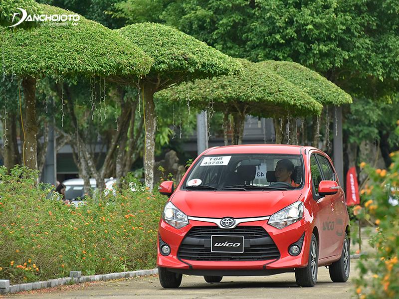 Toyota Wigo có ưu điểm động cơ rất êm, tiếng ồn và độ rung thấp