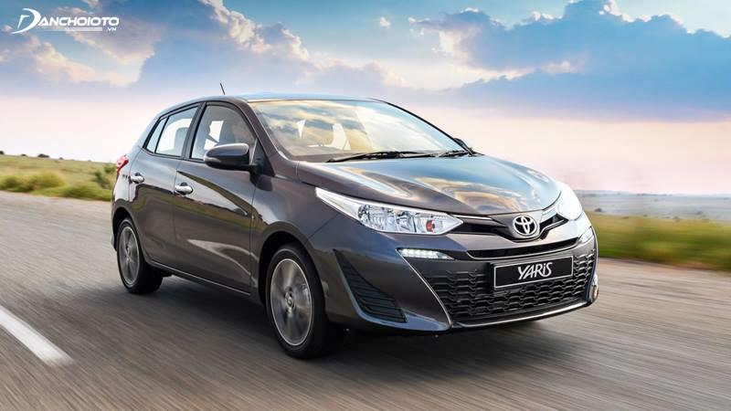 Toyota Yaris được trang bị động cơ dung tích 1.5L