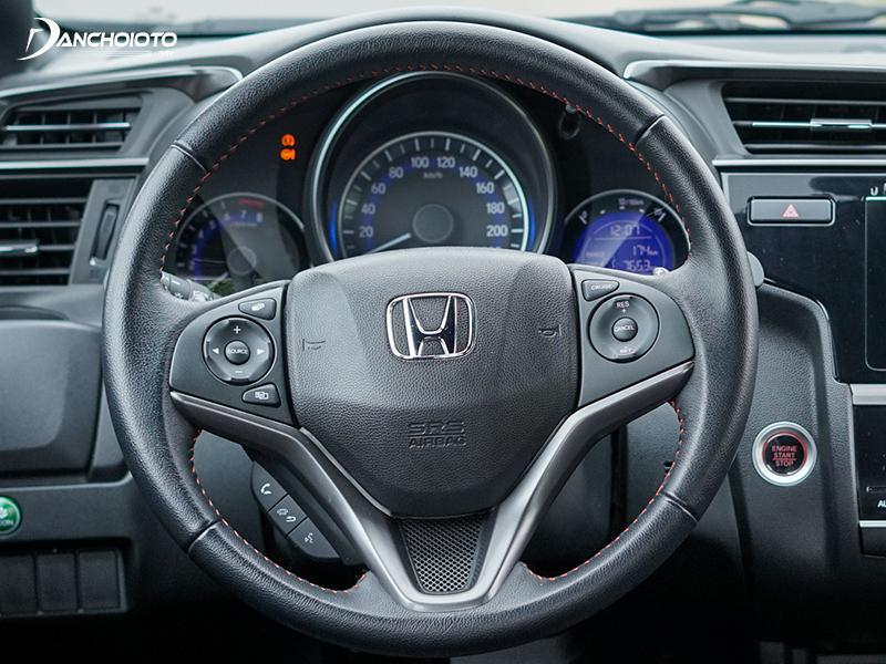 Steering wheel of Honda Jazz 2020