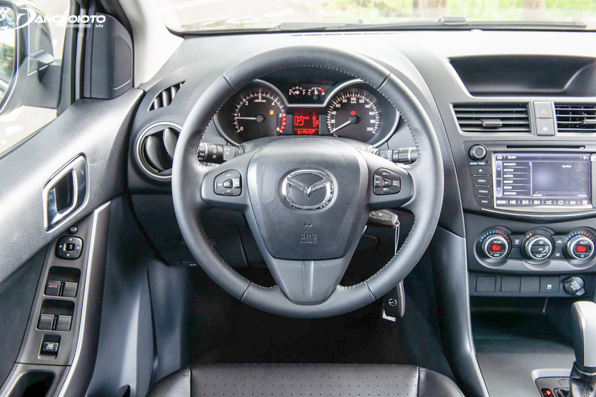 Steering wheel on 2018 Mazda BT-50