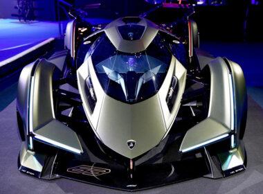 """Lamboghini V12 Vision GranTurismo """"cực độc"""" từ viễn tưởng ra đời thực"""