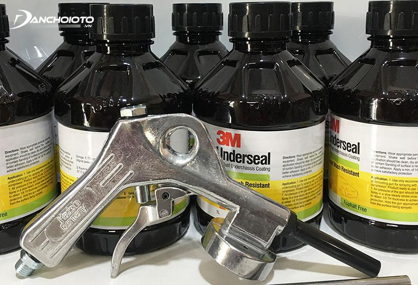 Nên hỏi rõ loại sơn phủ gầm sử dụng, ưu tiên chọn cơ sở dùng sơn có thương hiệu