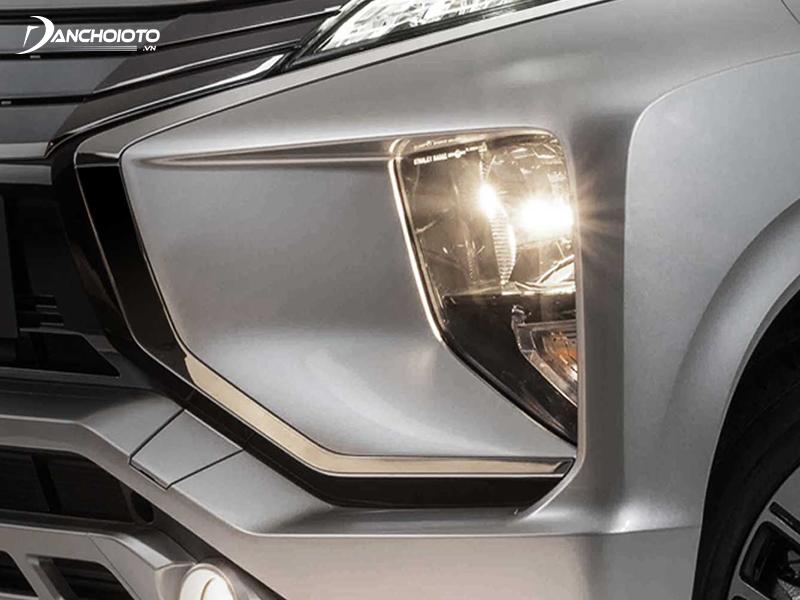 Cụm đèn trước Mitsubishi Xpander được hạ thấp
